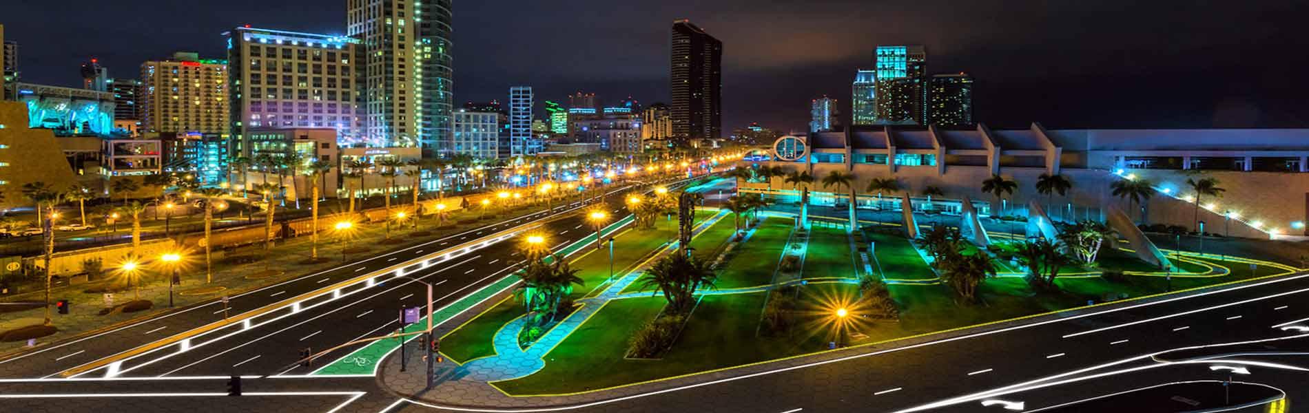 city-at-night-concept