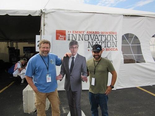 Scott, (paper) Mo, and Justin
