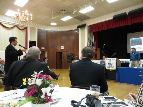 Scott's Rotary talk'